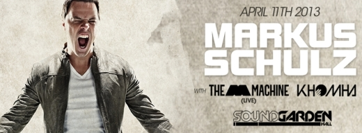 markus schulz at soundgarden hall